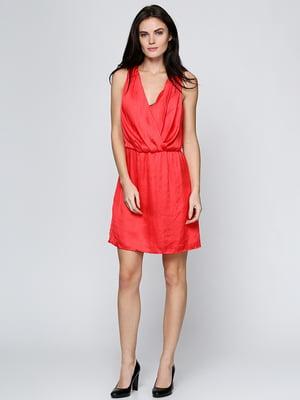 Платье кораллового цвета | 5433847
