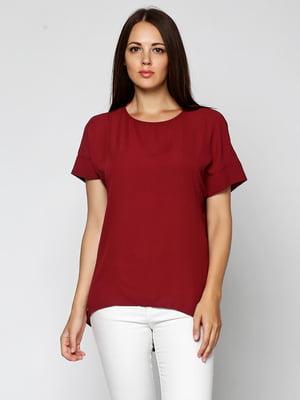 Блуза бордова | 5433897