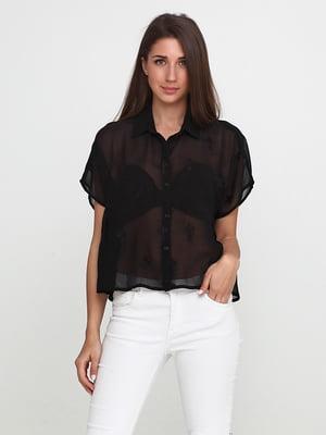 Блуза чорного кольору | 5433898