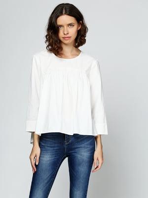 Блуза молочного кольору | 5433948