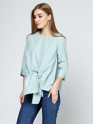 Блуза зеленого цвета | 5433972