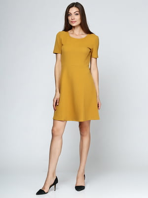 Сукня гірчичного кольору | 5433973