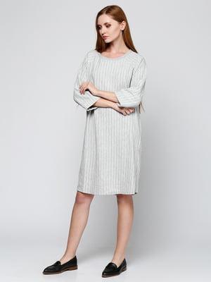 Сукня сіра в смужку | 5434018
