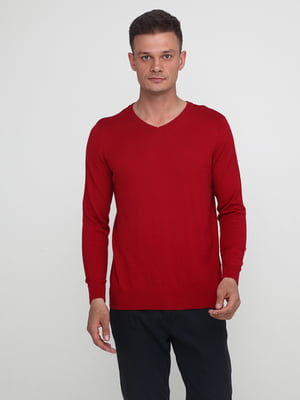 Пуловер красный | 5434024