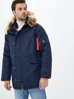 Куртка синяя   5434027