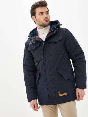 Куртка синяя   5434081