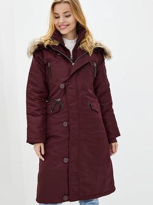 Куртка бордовая   5434098