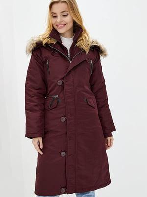 Куртка бордовая   5434101