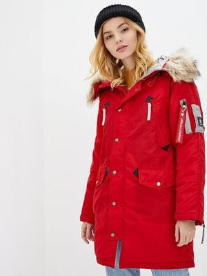 Куртка красная   5434126