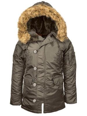 Куртка сіра   5434384