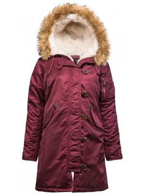 Куртка бордова   5434407
