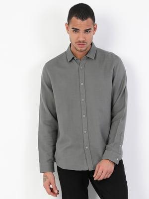 Рубашка цвета хаки | 5377788