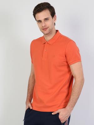 Футболка-поло оранжевая | 5377902