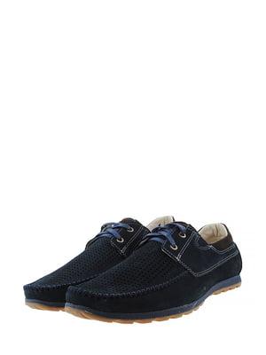 Туфли сине-коричневого цвета | 5430803