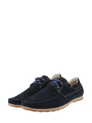 Туфли сине-коричневого цвета | 5430804