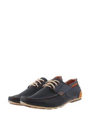 Туфли сине-коричневого цвета | 5430806