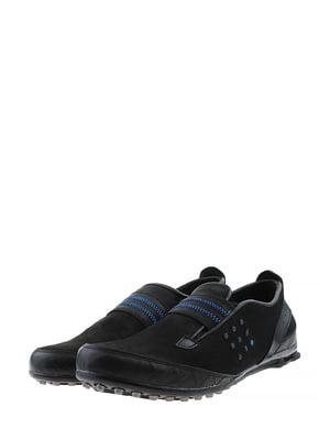 Туфли черно-синие | 5430807