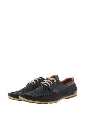 Туфли сине-коричневого цвета | 5436365