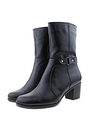 Ботинки черные   5436378