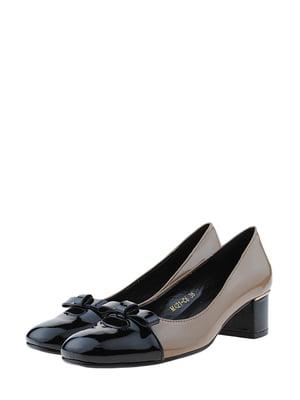 Туфлі кавового кольору | 5425388