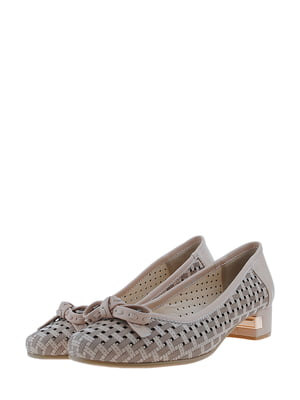 Туфли бежевого цвета | 5436247