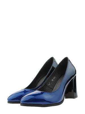 Туфли сине-черные | 5436248