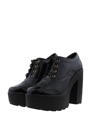 Туфли черные   5430748