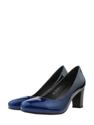 Туфлі синьо-чорні | 5430755