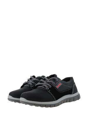 Туфли серо-черные | 5430771