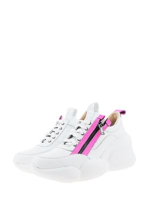 Кроссовки белого цвета | 5436348