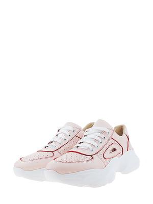 Кроссовки розового цвета | 5436350