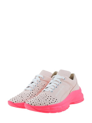 Кроссовки розового цвета | 5436353