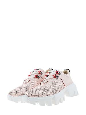 Кроссовки розового цвета | 5436356