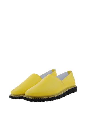 Мокасини жовтого кольору | 5436452