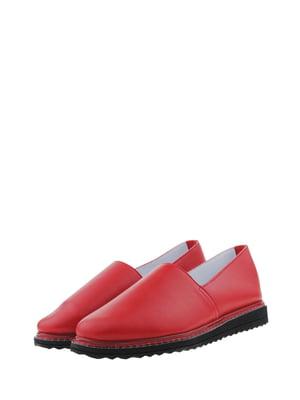 Мокасини червоного кольору | 5436453