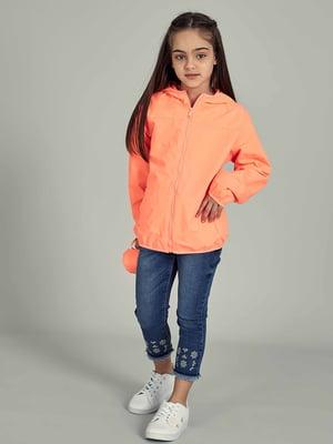 Вітрівка помаранчевого кольору | 5435776
