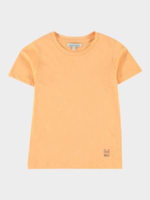 Футболка помаранчевого кольору   5435790
