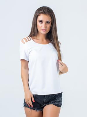 Блуза біла | 5436692