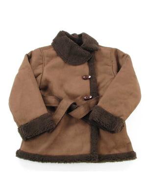 Пальто коричневое | 5436849