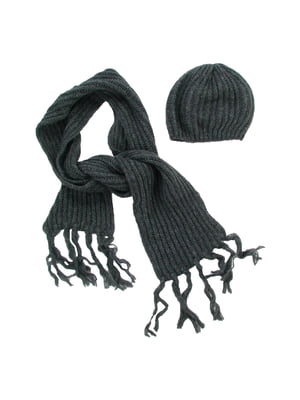 Комплект: шапка и шарф | 5436941