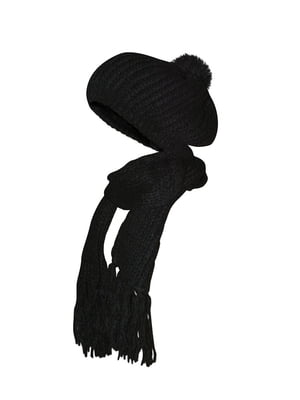 Комплект: шапка и шарф | 5436961