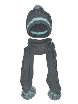 Комплект: шапка и шарф | 5436962