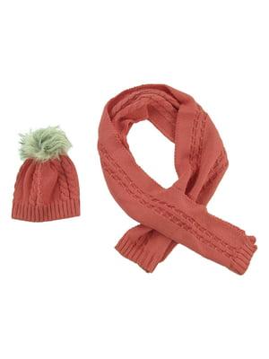 Комплект: шапка и шарф | 5436963