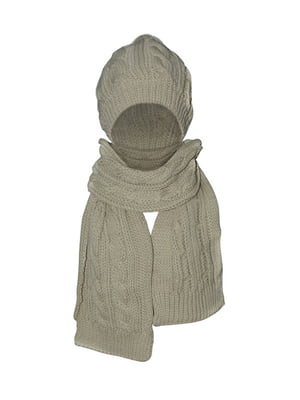 Комплект: шапка и шарф | 5436964