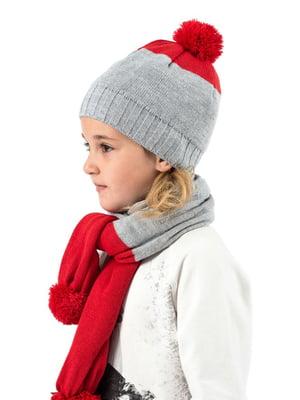 Комплект: шапка и шарф | 5436966