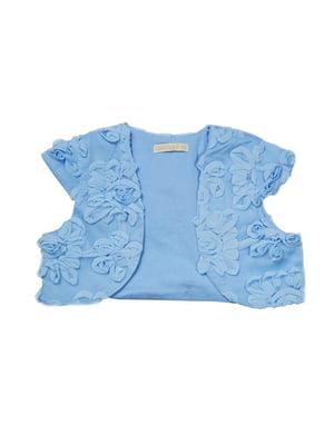 Болеро голубого цвета   5437015