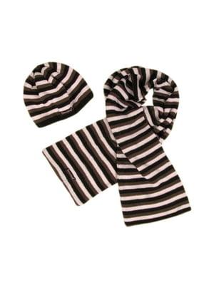 Комплект: шапка и шарф | 5437250