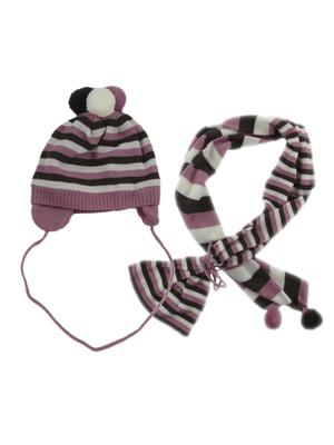 Комплект: шапка и шарф | 5437251