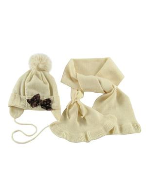 Комплект: шапка и шарф | 5437256