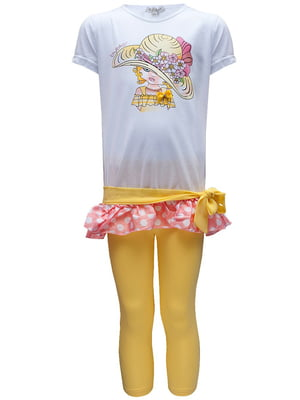 Комплект: футболка и леггинсы | 5438191